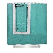 Caribbean Window Shower Curtain