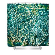 Caribben Waters Shower Curtain
