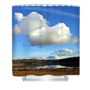 Cariboo Country Shower Curtain