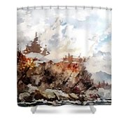 Cariboo Fall Shower Curtain