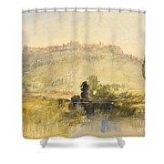 Carisbrooke Castle Shower Curtain