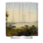 Carl Abraham Shower Curtain