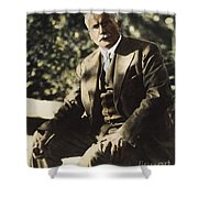 Carl G. Jung  Shower Curtain