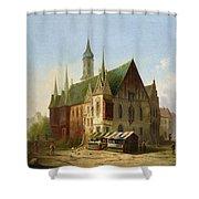 Carl Josef Shower Curtain