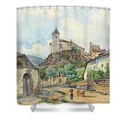 Carl Lafite Shower Curtain