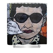 Carlos The Jackal Shower Curtain