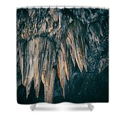 Carlsbad Caverns National Park Chandelier Shower Curtain