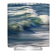 Ocean Wave Abstract Shower Curtain