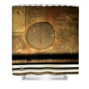 Carlton 15 - Square Circle Shower Curtain