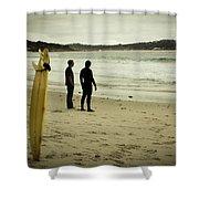 Carmel Beach, Ca Shower Curtain