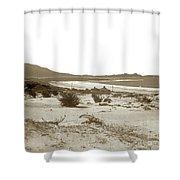 Carmel Beach, Carmel Point And Point Lobos Circa 1925 Shower Curtain