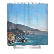 Carmel Coast 2 Shower Curtain