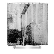 Carmel Mission Cemetery Shower Curtain
