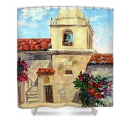 Carmel Mission, Summer Shower Curtain