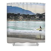Carmel Surf Shower Curtain
