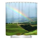 Carmel Valley Rainbow Shower Curtain