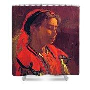 Carmelita Requena 1870 Shower Curtain