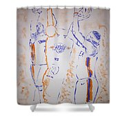 Carmelo Anthony Shower Curtain