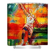 Carmelo Anthony New York Knicks Shower Curtain