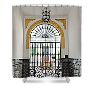 Carmona Door 2 Shower Curtain