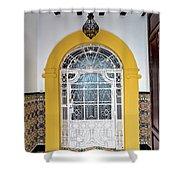 Carmona Door 3 Shower Curtain