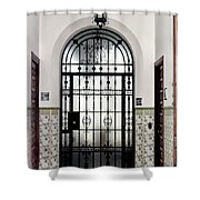 Carmona Door Shower Curtain