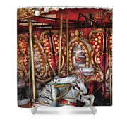 Carnival - The Carousel Shower Curtain