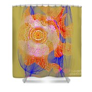 Carnival Abstract 1 Shower Curtain