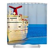 Carnival Cruise Ship Shower Curtain