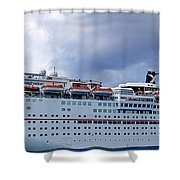 Carnival Cruise Ship Shower Curtain