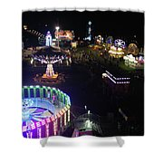 Carnival From The Sky Shower Curtain