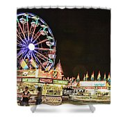 carnival Fun and Food Shower Curtain