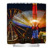 Carnival Fun Shower Curtain