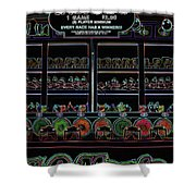Carnival Game On Velvet Shower Curtain
