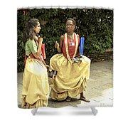Carnival Girls Shower Curtain