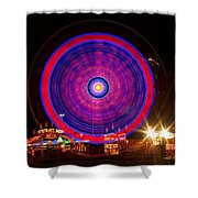 Carnival Hypnosis Shower Curtain