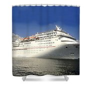 Carnival Inspiration Cruise Ship Shower Curtain