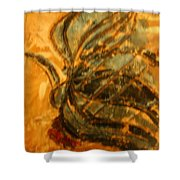 Carnival Over - Tile Shower Curtain