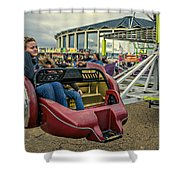 Carnival Ride Shower Curtain