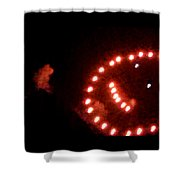 Carnival Smiley Face Shower Curtain