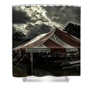 Carnival Tents Shower Curtain