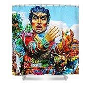 Carnivale Di Sciacca Shower Curtain
