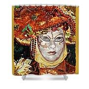 Carnivale Mask #12 Shower Curtain