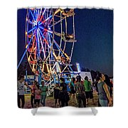 Carny Night 6 Shower Curtain