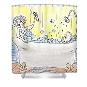 Carol And Kenny Shower Curtain