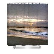 Carolina Beach Morning Shower Curtain