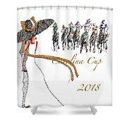Carolina Cup  Shower Curtain
