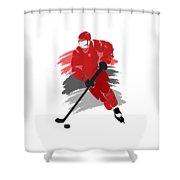 Carolina Hurricanes Player Shirt Shower Curtain