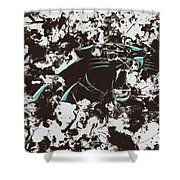 Carolina Panthers 1b Shower Curtain
