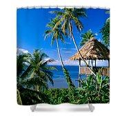 Caroline Islands, Pohnpei Shower Curtain